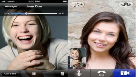 Tres alternativas para hacer videoconferencias desde tu móvil: Comparativa entre Skype, Fring y Tango