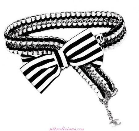 Chanel en blanco y negro