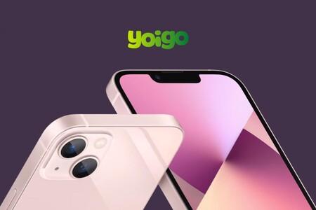 Precios iPhone 13, 13 Mini, 13 Pro y 13 Pro Max con pago a plazos y tarifas Yoigo