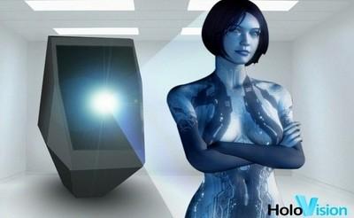 Holovision, los hologramas a tamaño real que imaginó la ciencia ficción