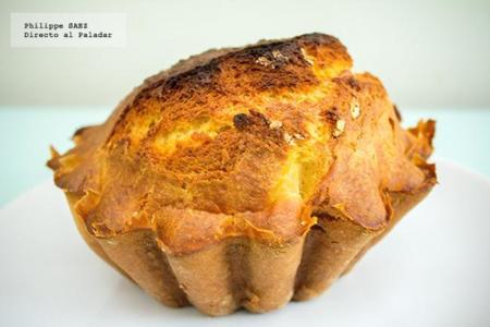 Pan de frutas en almíbar