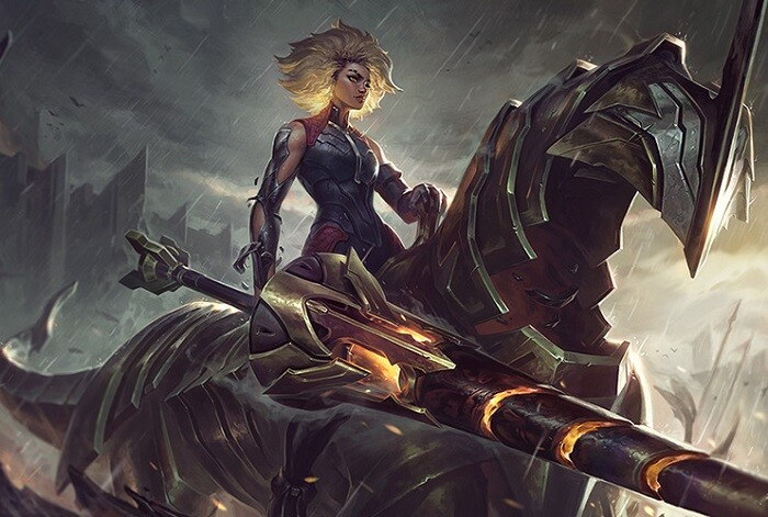 Rell, la Dama de Hierro, será la próxima campeona de League of Legends