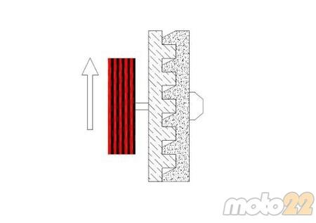 Anti-rebote - Acople motor- Fig. 2