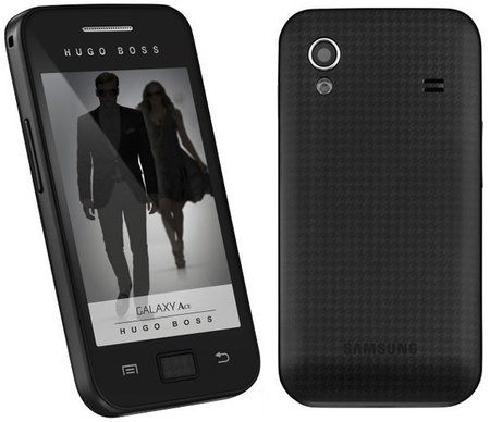 Samsung Galaxy Ace edición Hugo Boss
