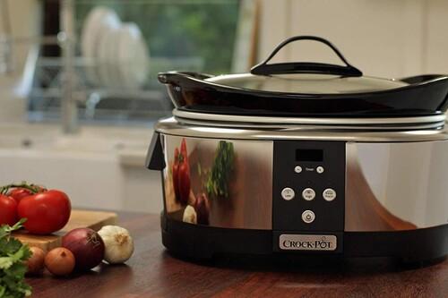 Chollo en Amazon en la olla de cocción lenta Crock-Pot SCCPBPP605 de 5,7 litros, rebajada a 56,39 euros con envío gratis