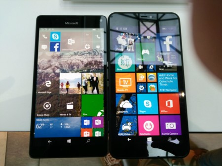 Lumia 640 Xl Vs 950 Xl Front1