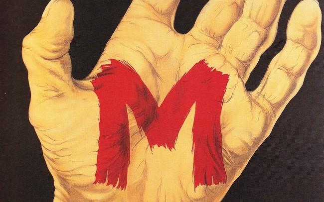 M Poster Fritz Lang