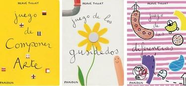 Libros para mentes inquietas y dedos pequeños de Hervé Tullet