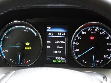 Prueba Toyota Rav4 Hybrid Detalles Interiores