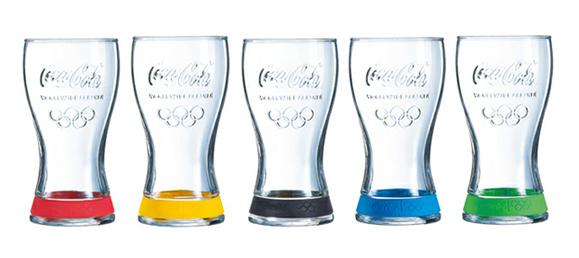 Coca Cola vasos olimpicos