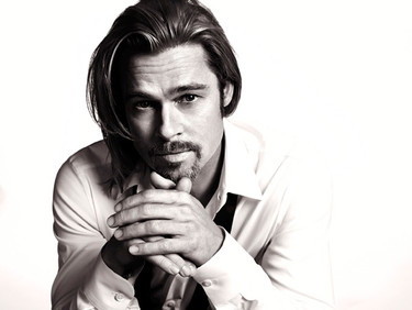 Brad Pitt, no es que me gustes para Chanel nº5, es que me vuelves loca