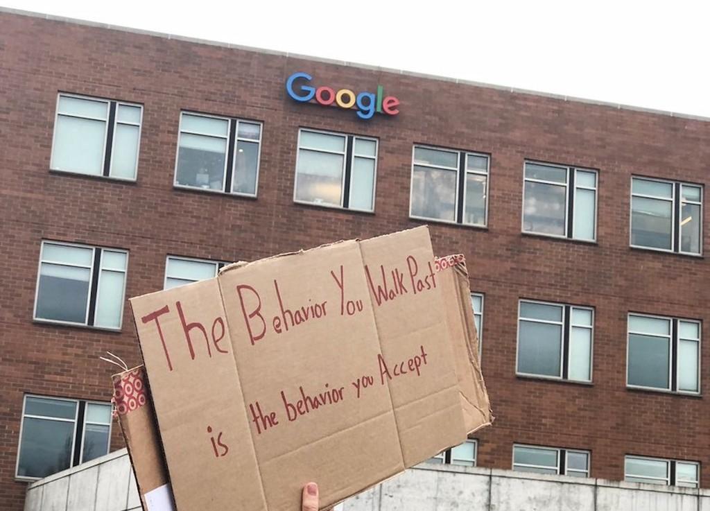 #GoogleWalkout, la protesta en contra del acoso sexual que sacó a las calles a miles de empleados de Google en todo el mundo