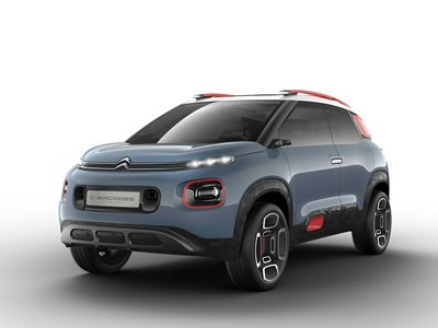 C-Aircross Concept, la visión que Citroën tiene de un SUV compacto