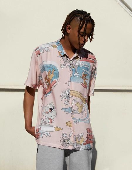 Camisas Manga Corta Estampadas 01