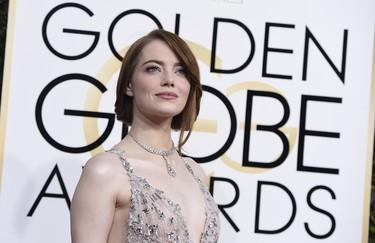Globos de oro 2017: Así vestían las vencedoras