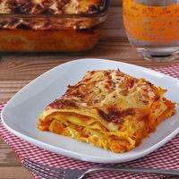 Lasaña de calabaza asada y queso de cabra: deliciosa receta vegetariana