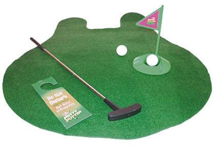 golf baño
