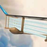 Este avión vuela sin partes móviles y es completamente silencioso