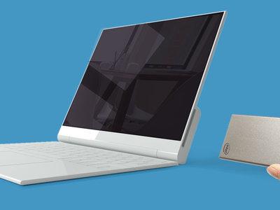 """Intel y su """"ordenador en una tarjeta"""" quieren conseguir que los portátiles sean un accesorio"""