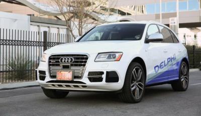 El Audi S Q5 autónomo de Delphi prepara un viaje costa a costa en Estados Unidos