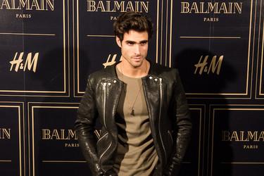 Los chicos también cayeron rendidos a Balmain en la preventa que organizó H&M ayer en Madrid