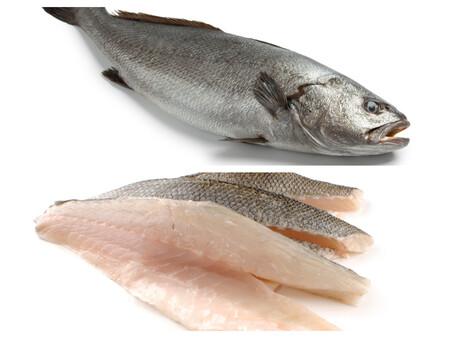 La Corvina Arriba Y Los Lomos De Lubina Abajo Son Dos Pescados Que Se Prestan Bien A Las Preparaciones En Crudo