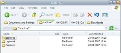 QtTab, pestañas en el Explorador de Windows