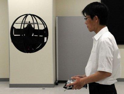 Se crea el primer robot esférico capaz de levitar