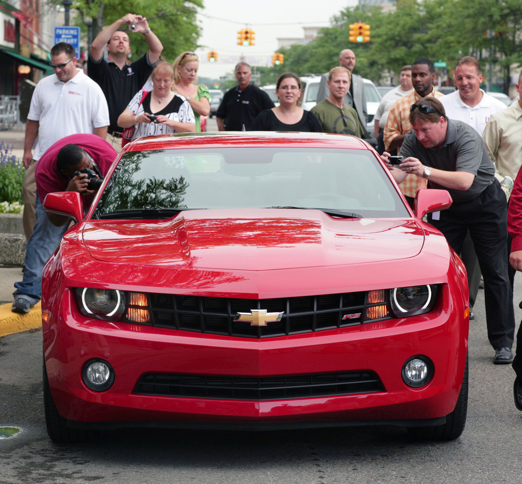 Foto de 2010 Chevrolet Camaro (30/56)