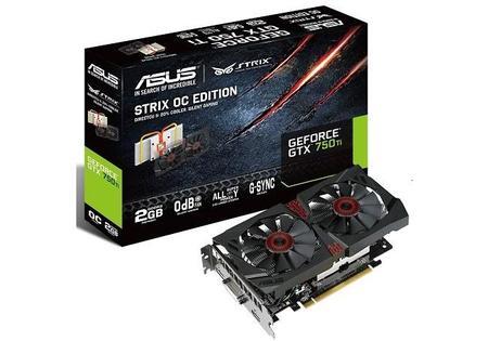 ASUS implementa tecnología semi-pasiva en tarjeta STRIX GTX 750 Ti OC