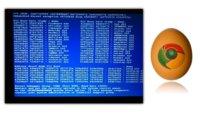 La imagen de la semana: Huevo de Pascua en Chrome OS