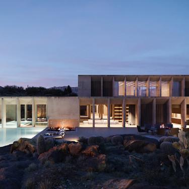 Hunter House, un impresionante retiro de lujo de estilo minimal perdido en el desierto de Arizona