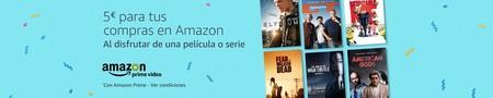 Consigue un código promocional de 5 euros gratis en Amazon al ver una película o serie en Prime Video