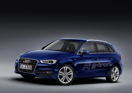 Audi introducirá el A3 Sportback g-tron, el coche a gas natural sintético de Audi
