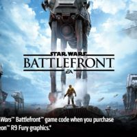 AMD estará regalando Star Wars: Battlefront con tarjetas Radeon R9 Fury