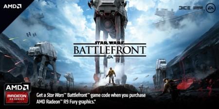 AMD estará regalando Star Wars: Battlefront con tarjetas Radeon R9 Fury