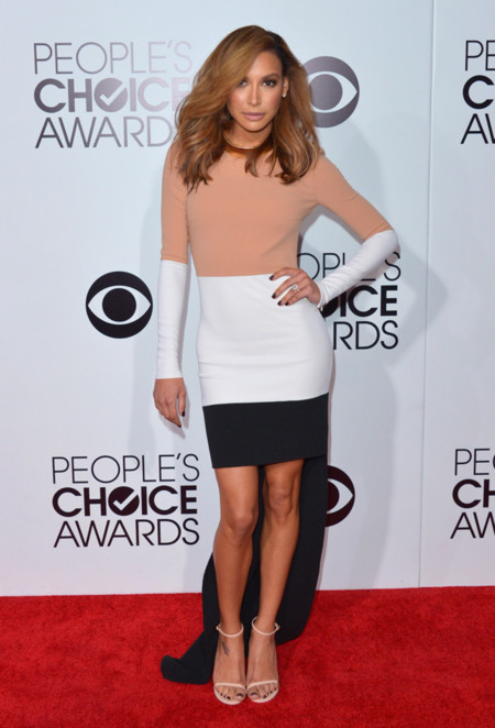 Peoples Choice Awards 2014 tendencias en vestidos de fiesta Naya Rivera Michael Kors