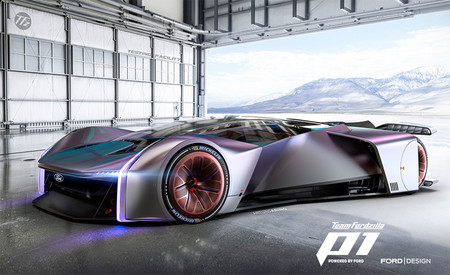 Ford desvela su bestia para los egames: un escultural coche virtual capaz de mutar su carrocería según el circuito