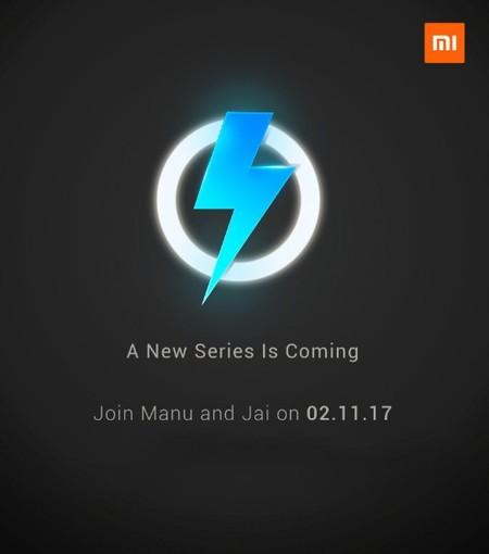 Xiaomi anuncia la llegada de una 'nueva serie' de smartphones este 2 de noviembre