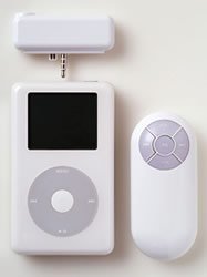 Controla el iPod a distancia