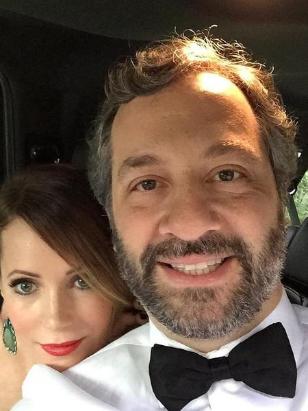 Leslie Mann Judd Apatow Ready Golden Globes