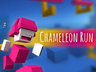 El gran 'endless runner' Chameleon Run disponible totalmente gratis por tiempo limitado