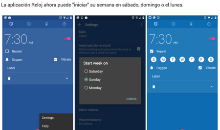 Descarga el APK del nuevo Reloj en Android M