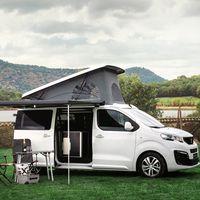 Las Peugeot Rifter y Traveller se visten de furgoneta camper gracias a Tinkervan, desde 2.500 euros