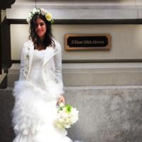 Leandra Medine Wedding