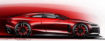 El Audi Quattro Sport e-tron Concept se materializará en Frankfurt