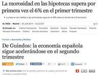 Dos noticias contradictorias hoy: macroeconomía vs microeconomía