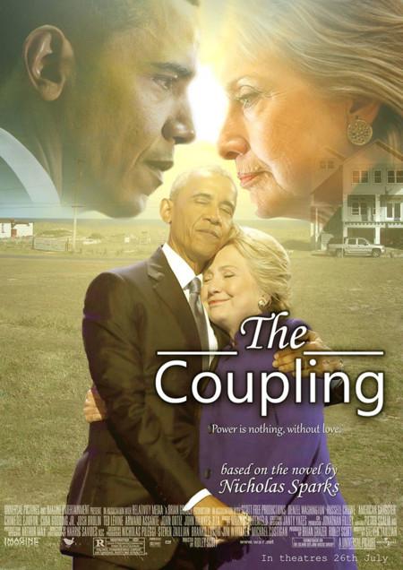 Barack Obama Hillary Clinton Hug Photoshop Battle 3