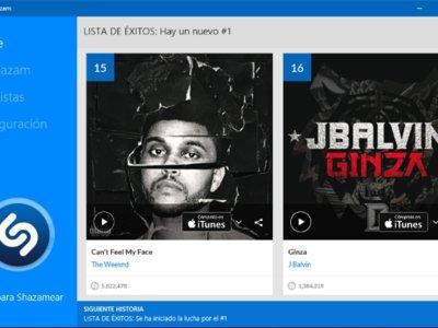 Shazam se actualiza para ponerse al día con Windows 10