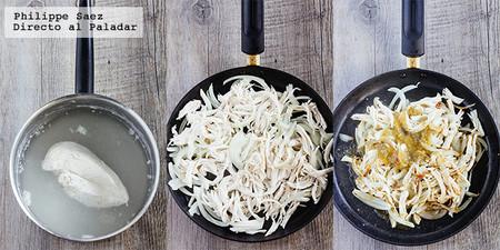 Bagel Pollo Salsa Verde